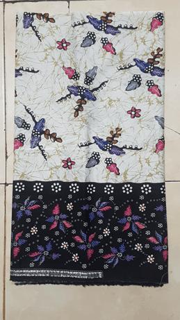 Jual kain batik handprint untuk seragam batik