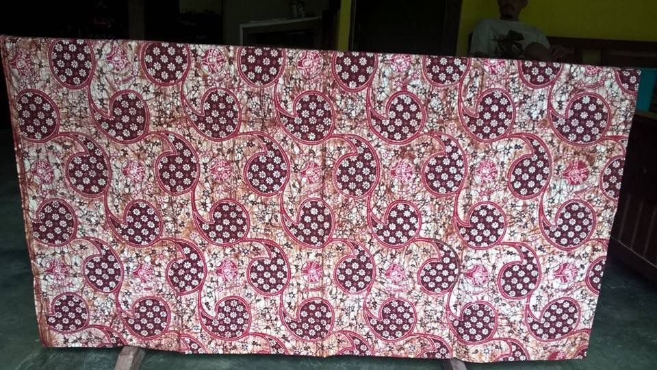 jual kain batik tulis sragen, solo