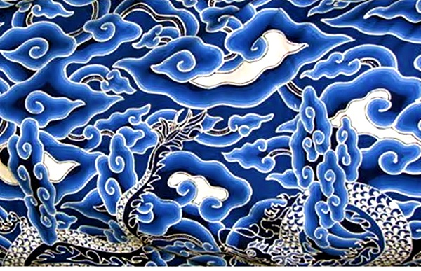 Batik cirebon ikon motif mega mendung - Batik Dlidir