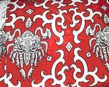 Batik jombang dengan motif khas bunga