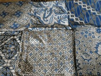 Kain batik untuk kota Banten