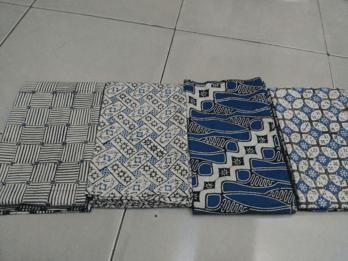 Kain batik untuk kota Tangerang