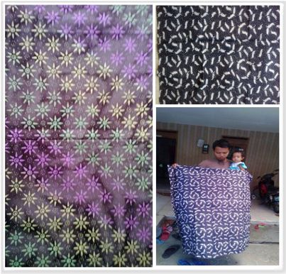 Kain batik untuk kota Tasikmalaya
