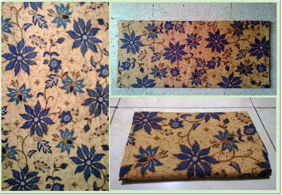 Kain batik untuk kota Palangka Raya