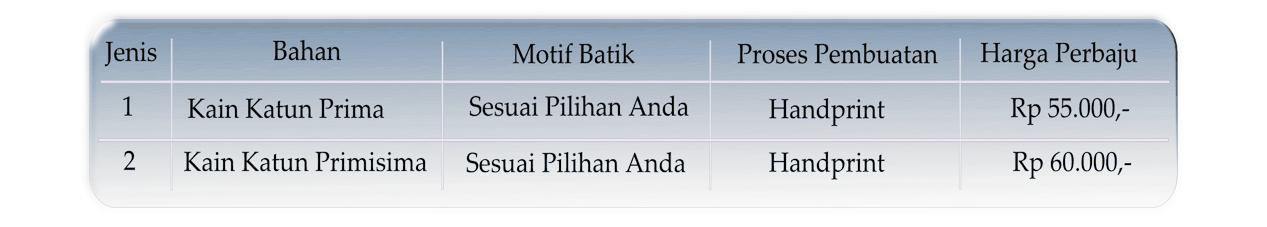 Kain batik murah di Palembang untuk Baju seragam