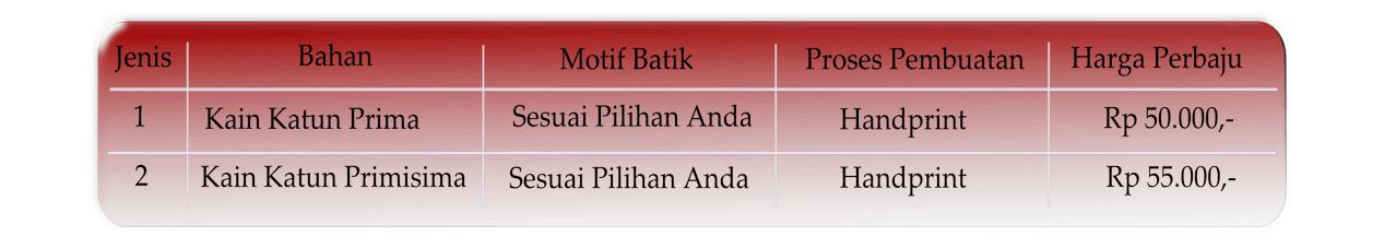 Kain batik murah di Palembang anak SD
