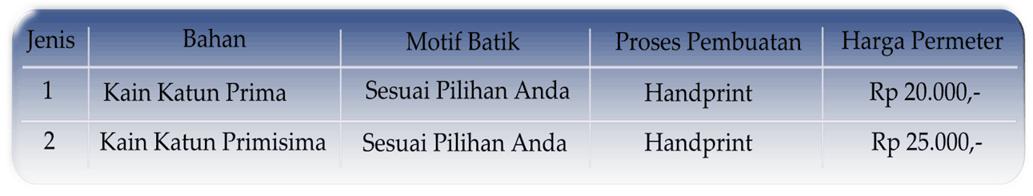 Kain batik murah di Palembang untuk seragam