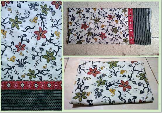 Seragam batik murah dalam wujud masih kain