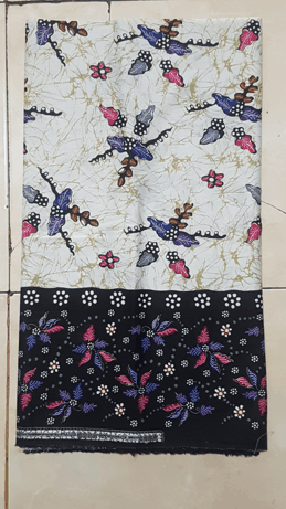 kain batik handprint dlidir