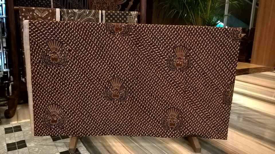 Vintage indonesian batik fabric
