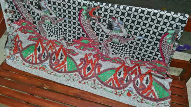 indonesian batik fabric for UK ( United Kingdom )