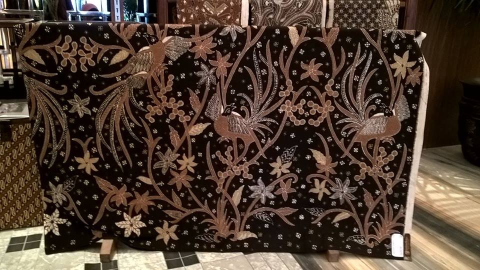 Koleksi kain batik tulis dlidir