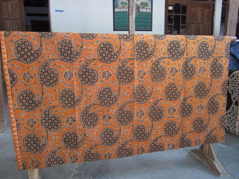 Batik fabric Baltimore
