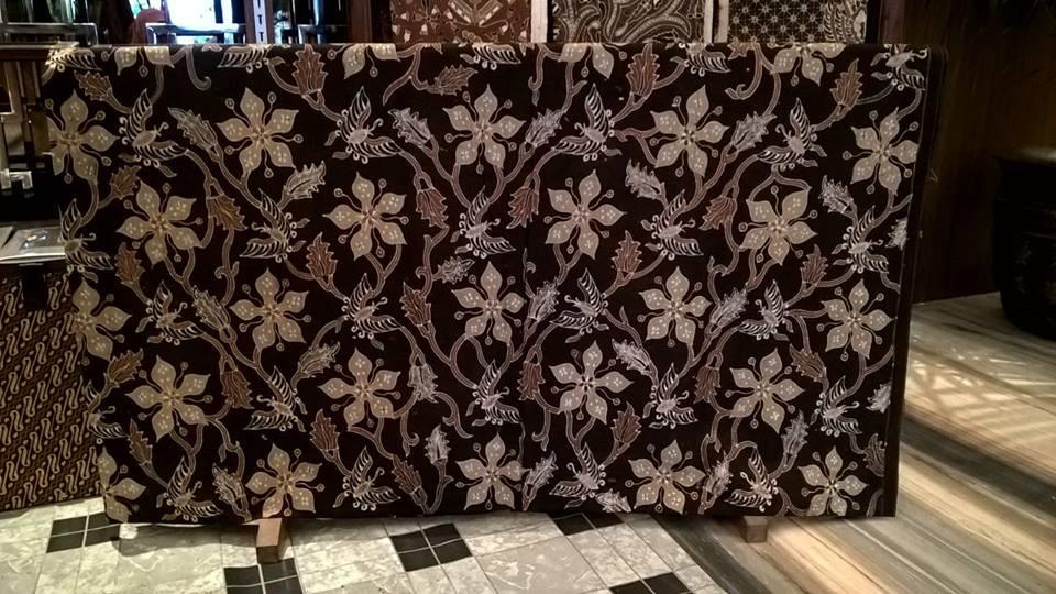 Batik fabric Brussels