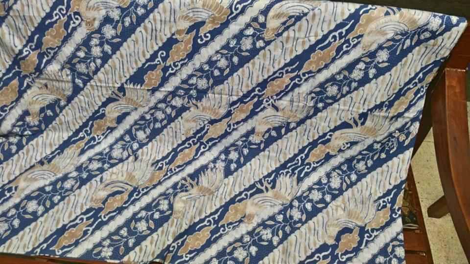 Batik fabric Cleveland US Indigo
