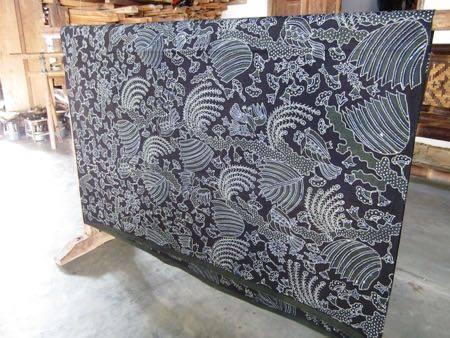 Batik fabric St Peterburg Russian