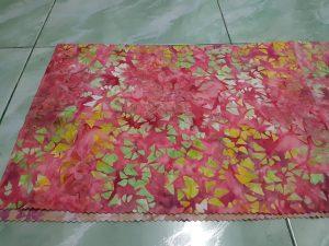 Cheap batik fabric in Amsterdam with the original handmade