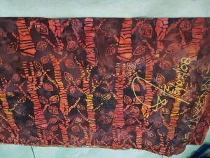 Cheap batik fabric in Hamburg, Germany