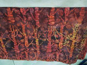 Cheap batik fabric in Hamburg, Germany