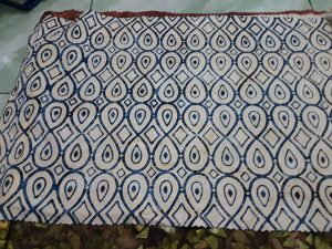 Cheap batik fabric in Lima, Peru