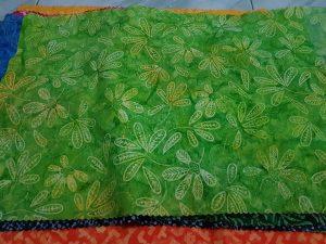 Cheap batik fabric in Lisbon