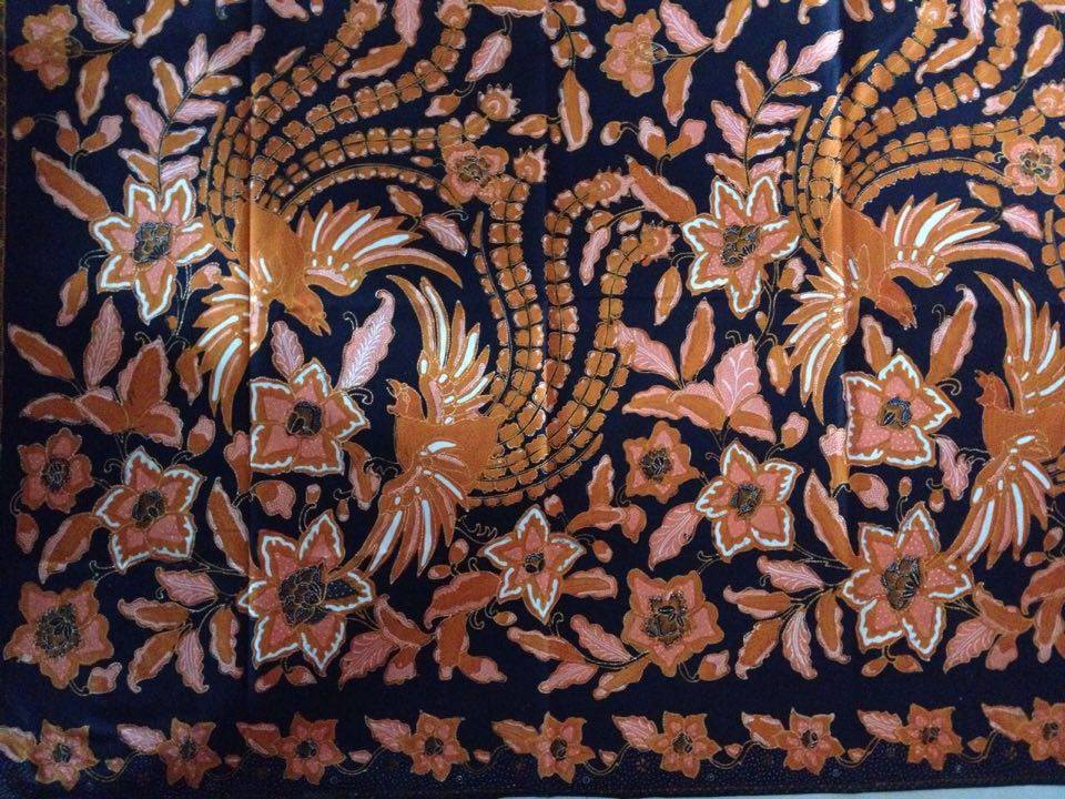 Seragam batik kondangan berbahan katun yang nyaman