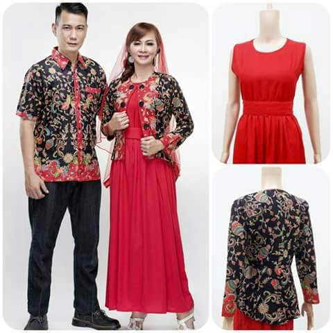 Model baju batik modern terbaru dengan tehnik gradasi - Batik Dlidir 9abb5c1f6b