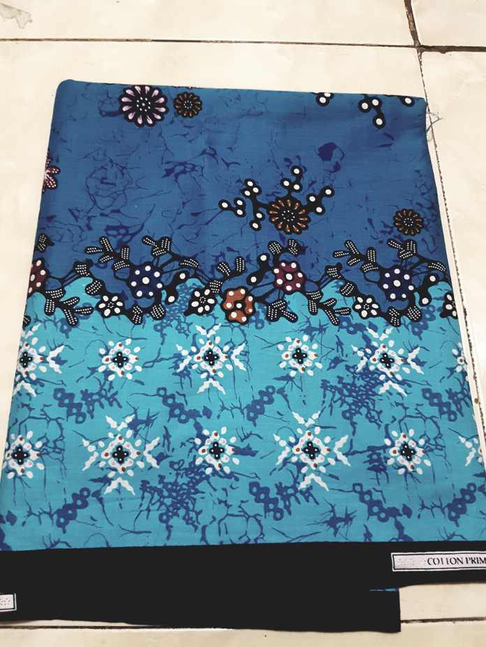Grosir kain batik tanah abang dengan tehnik handprint
