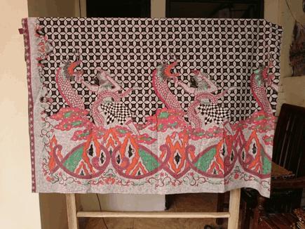 Batik tulis naga