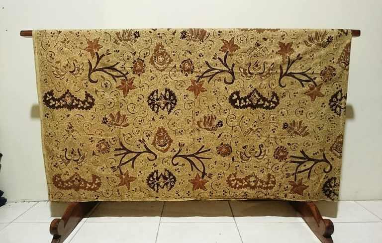 Batik tulis Ngasem dengan kualitas bahan katun