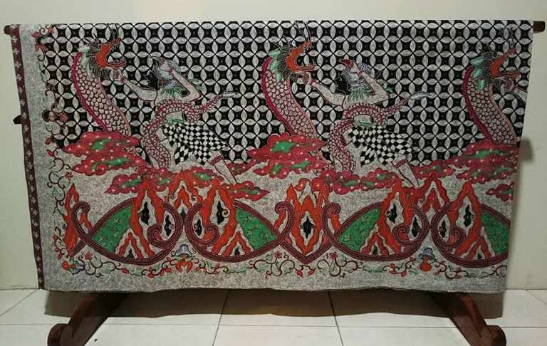Batik tulis mega mendung
