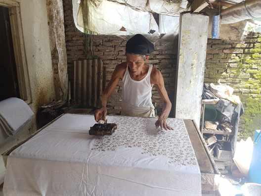 Tehnik kain batik di solo
