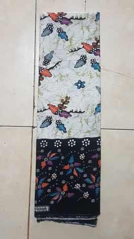 Tehnik pembuatan Seragam batik menggunakan plangkan  handprint