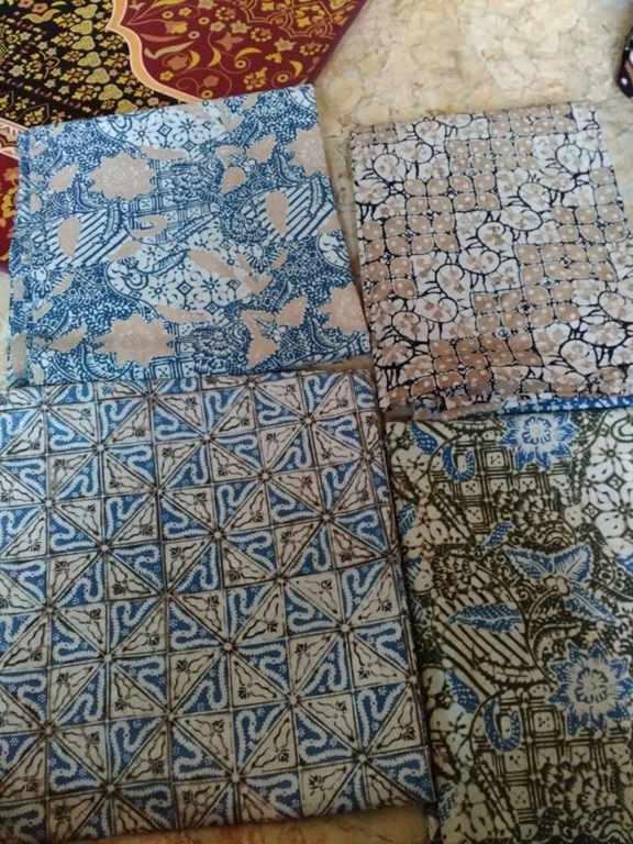Tehnik pembuatan kain batik menggunakan cap atau stamp