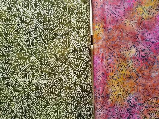 Tehnik pembuatan kain batik menggunakan cap tie dye