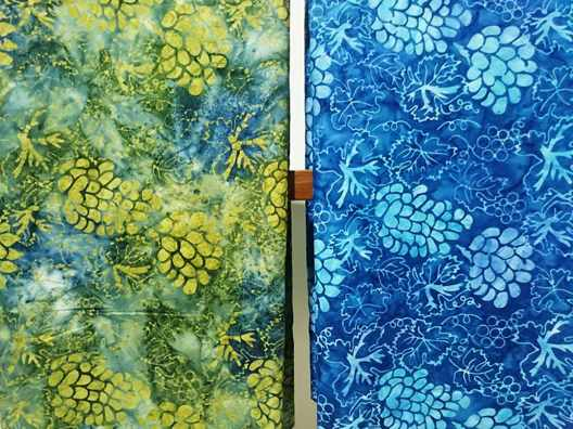 pembuatan Seragam batik menggunakan cap tie dye