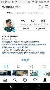 Batik tulis instagram orisinil handmade ( Canting )