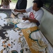Batik tulis keris di Batikdlidir