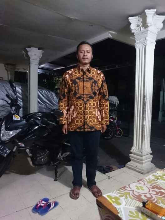 Batik tulis lengan panjang ekslusif di Batikdlidir