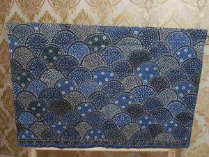Batik tulis Jawa terbagi menjadi tiga wilayah