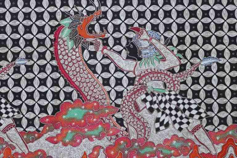 Batik tulis fauna kualitas