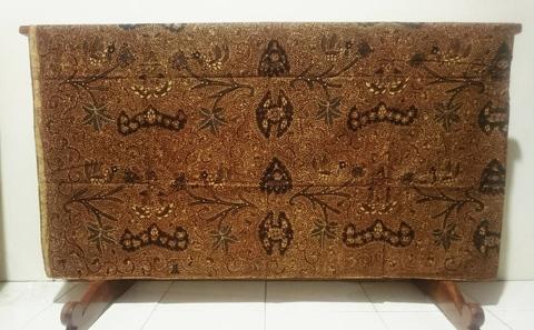 Batik tulis halus hasil karya para pengrajin di Batikdlidir