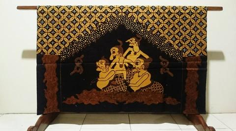 Batik tulis kawung disebut-sebut khas dari Kota Jogja
