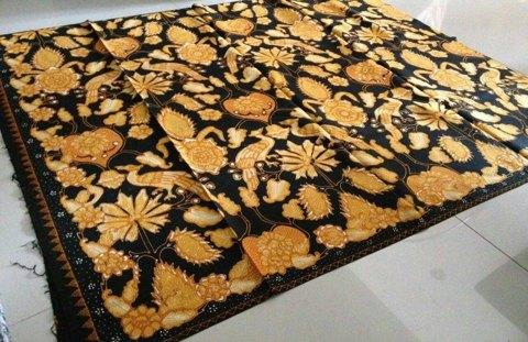 Batik tulis lorok Pacitan sejak tahun 1980 an