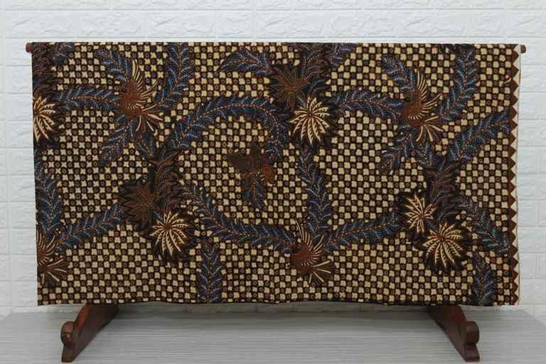 Jenis kain batik modern handprint
