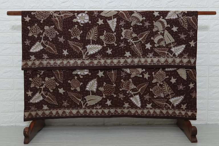 Jenis kain batik modern tulis