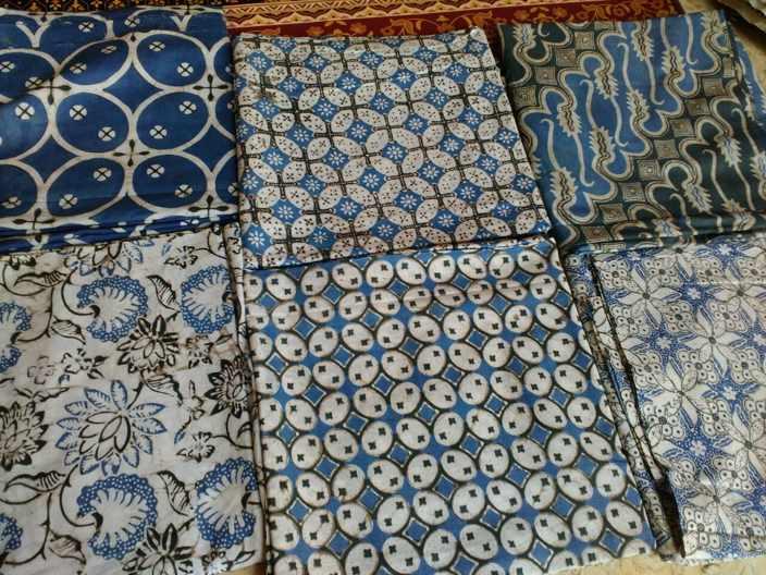 Jual kain Seragam batik murah dengan tehnik cap asli kelengan
