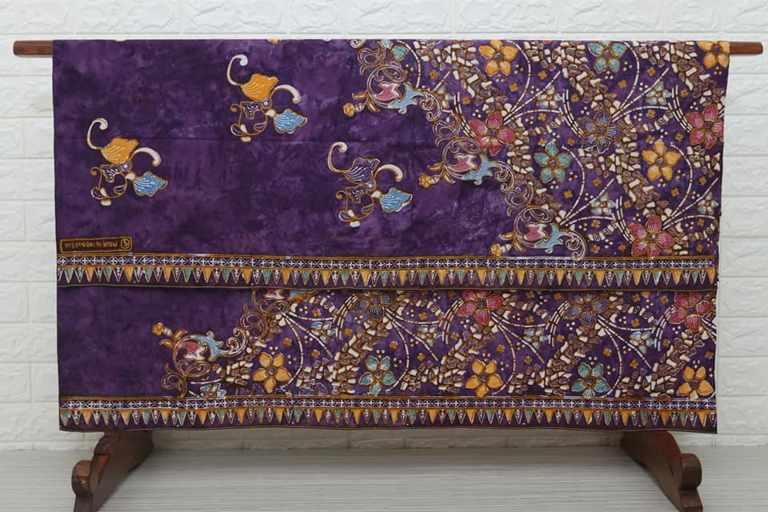 Jual kain Seragam batik murah dengan tehnik cap cuwiri modern di Batikdlidir