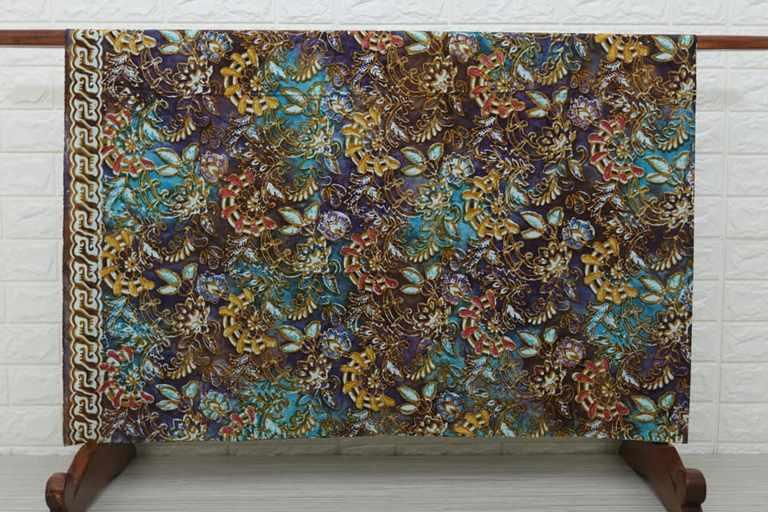 Jual kain Seragam batik murah dengan tehnik cap cuwiri modern