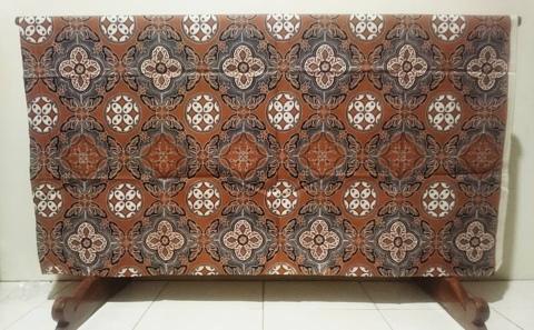 Jual kain batik tulis kawung untuk seragam keluarga Atau direksi perusahaan